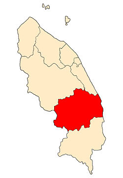 Location of Dungun