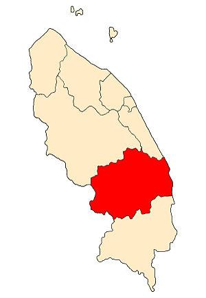 Dungun District - Image: TG District Dungun
