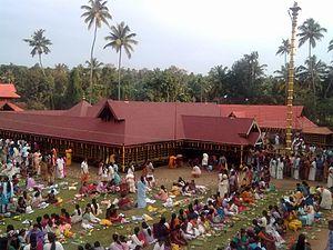 Thrikkadavoor - Thrikkadavoor Temple