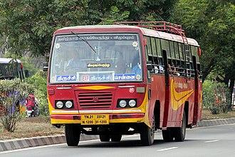 Tamil Nadu State Transport Corporation - Image: TNSTC bus 2