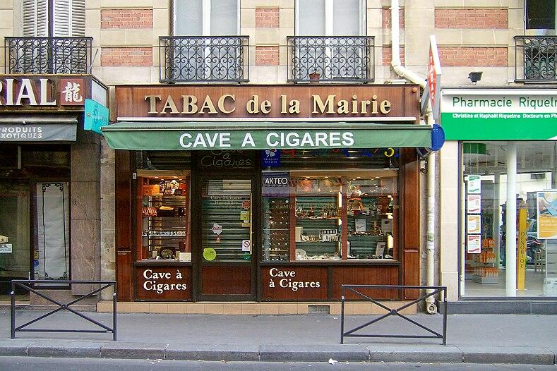 file tabac de la mairie 66 rue de la pompe 75116 paris france 13 june wikimedia. Black Bedroom Furniture Sets. Home Design Ideas