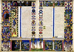 Taddeo crivelli, bibbia di borso d'este 02.jpg