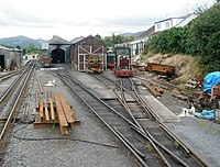 Talyllyn loco shed yard, Pendre - geograph.org.uk - 1415103.jpg