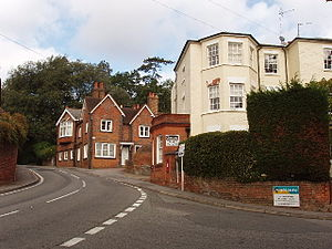 Taplow - Image: Taplow village centre geograph.org.uk 59903