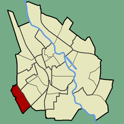 Location of Ränilinn in Tartu.