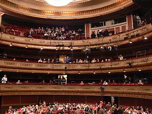 Teatro de la Zarzuela - Auditorium of the Teatro de la Zarzuela