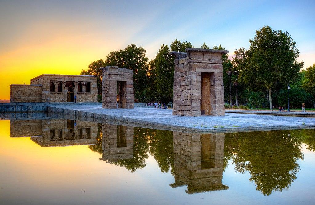 Templo de Debod itt: Madrid.jpg