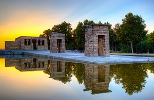 Temple of Debod - Image: Templo de Debod in Madrid