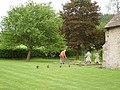 Tending the churchyard - geograph.org.uk - 206283.jpg
