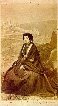 Тереза Макри през 1870 г.