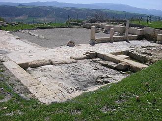 Acinipo - Roman baths of Acinipo.