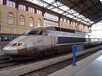 SNCF TGV Réseau - Image: Tgv sud est