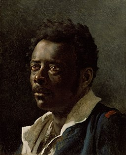 Théodore Géricault (French - Portrait Study - Google Art Project