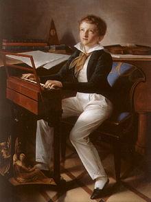 Sigismund Thalberg in seiner frühen Jugend (Quelle: Wikimedia)
