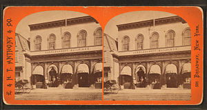 Timeline of Newport, Rhode Island - Image: Thames St. and A.J. Ward's, by E. & H.T. Anthony (Firm)