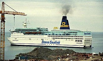 "MS Scandinavia (2003) - Image: The ""Stena Felicity"" at Rosslare geograph.org.uk 1120189"