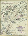 The 2nd Battle of Bull Run, Va., August 1862. Map showing position of the Union and Rebel forces, August 26th, 1862 at 7 p.m. LOC gvhs01.vhs00014.jpg