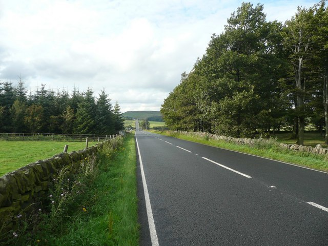 The A616, Dunford - geograph.org.uk - 936968