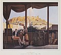 The Acropolis seen from the house of French consul M Fauvel, by Louis Dupré - 1827.jpg
