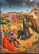 The Agony in the Garden by Fernando Gallego and workshop, 1480-1488, oil on panel - University of Arizona Museum of Art - University of Arizona - Tucson, AZ - DSC08373.jpg