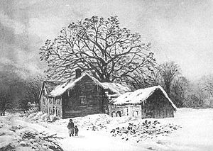 Avery Oak - The home of William Avery, and the Avery Oak.