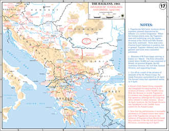 Balkan Campaign (World War II) - Axis advances in the Balkans during early 1941