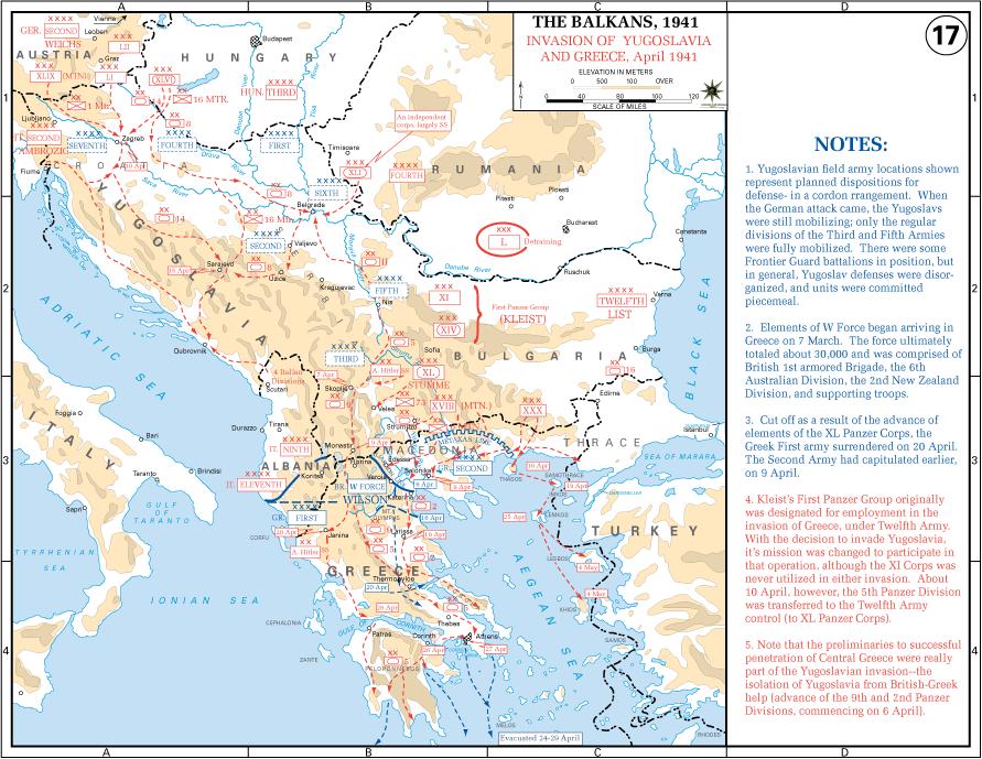 The Balkans 1941