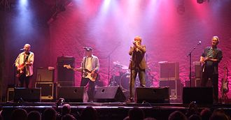 British blues - The Blues Band onstage in 2012
