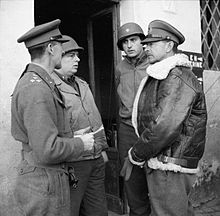 The British Army in Italy 1944 NA11881