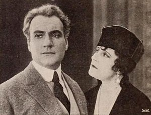 Jean Angelo - Jean Angelo and Kitty Gordon in The Divine Sacrifice (1918).