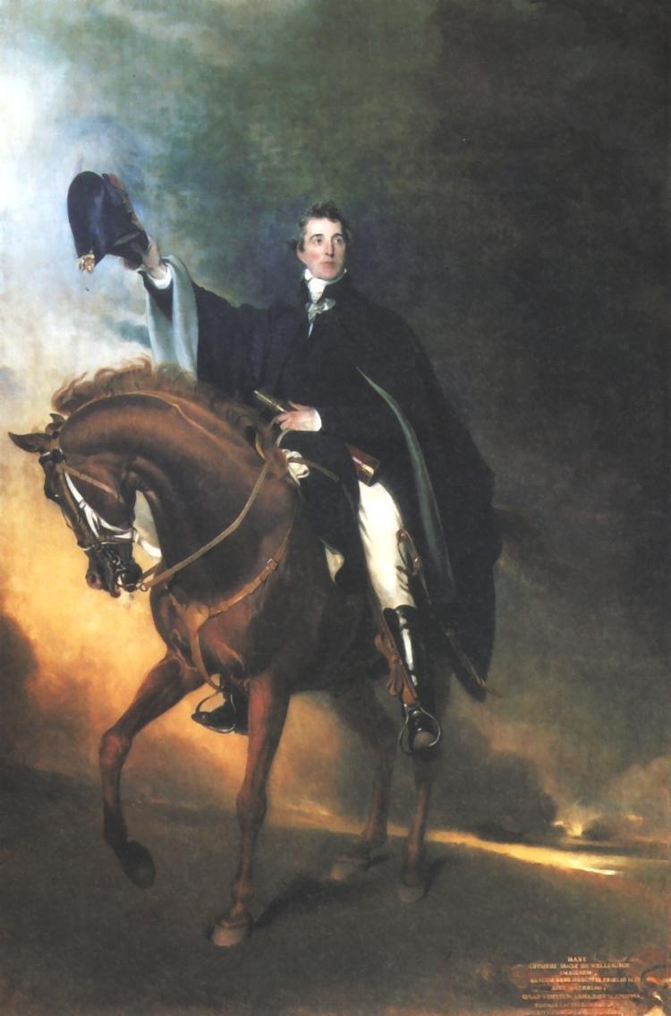 The Duke of Wellington on Copenhagen (1818) by Thomas Lawrence