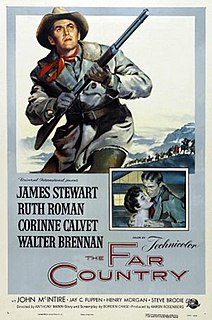 <i>The Far Country</i> 1954 film by Anthony Mann