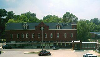 The Ginocchio historic hotel in Marshall, Texas, USA