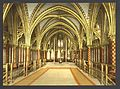 The Holy Chapel (i.e., Sainte-Chappelle), interior of lower chapel, Paris, France-LCCN2001698537.jpg
