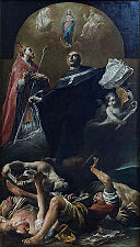 The Immaculate Conception with St. Anselm and St. Martin - Giuseppe Maria Crespi - Louvre INV 259.jpg