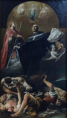 The Immaculate Conception with St. Anselm and St. Martin