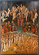 The Last Judgment by Fernando Gallego, Francisco Gallego, and workshop, 1480-1488, oil on panel - University of Arizona Museum of Art - University of Arizona - Tucson, AZ - DSC08396.jpg
