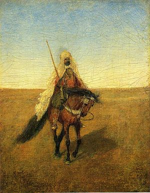 Albert Pinkham Ryder - The Lone Scout, ca. 1885