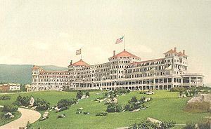 Mount Washington Hotel - Image: The Mount Washington Hotel, Bretton Woods, NH