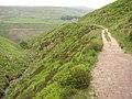 The Pennine Way above Blakely Clough, Marsden - geograph.org.uk - 459691.jpg