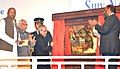 The President, Shri Pranab Mukherjee dedicating to the Nation Shiv Nadar University, at Dadri, Gautam Buddha Nagar, in Uttar Pradesh on January 18, 2016. The Governor of Uttar Pradesh, Shri Ram Naik is also seen.jpg