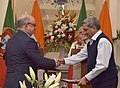 The Prime Minister, Shri Narendra Modi and the Prime Minister of Portuguese Republic, Mr. Antonio Costa witnessing the exchange of agreements between India and Portugal, at Hyderabad House, in New Delhi on January 07, 2017 (1).jpg