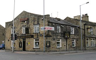 Bolton and Undercliffe - The Robin Hood public house.