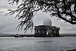 The Sea-based X-Band Radar (SBX) transits the waters of Joint Base Pearl Harbor-Hickam, Hawaii, March 22, 2013 130322-N-RI884-041.jpg