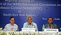 The Secretary, Ministry of Health & Family Welfare, Shri Keshav Desiraju addressing at the valedictory function of the Regional Meeting on Implementation of the WHO Framework Convention on Tobacco Control(WHO FCTC) for.jpg