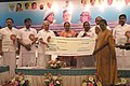 The Speaker, Lok Sabha, Smt. Meira Kumar giving away the Mother Teresa award for best NGO at a function, in Puducherry on February 11, 2011.jpg