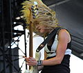 The Subways more than Charlotte Coopers hair at Frequency Festival (7845817080).jpg