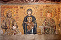 The Theotokos and Child with John II and Empress Irene, Hagia Sophia, Istanbul.jpg