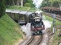 The Torbay Express approaching Churston Station - geograph.org.uk - 1295576.jpg