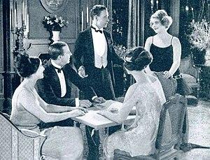 Guy Edward Hearn - Edward Hearn and Wanda Hawley standing in The Truthful Liar (1922)